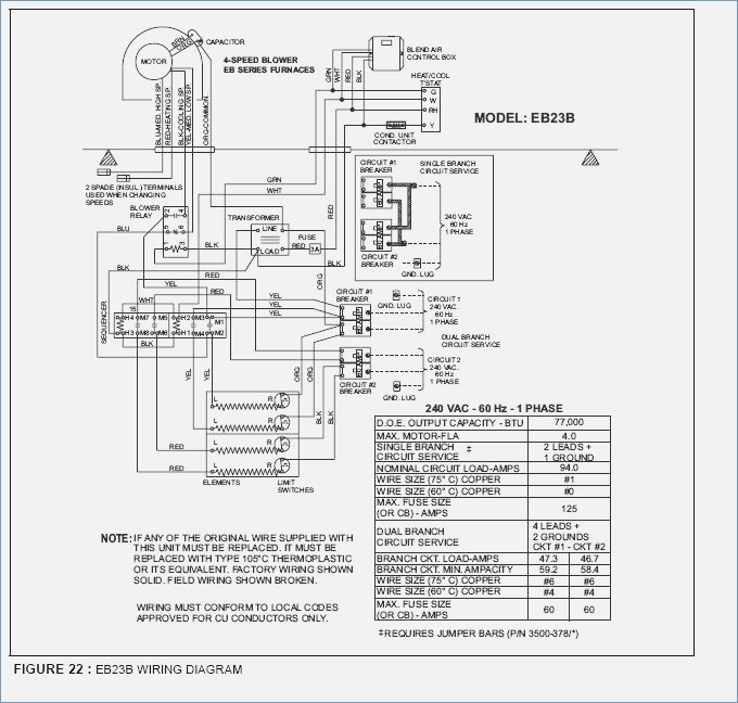 central electric furnace eb15b wiring diagram sample