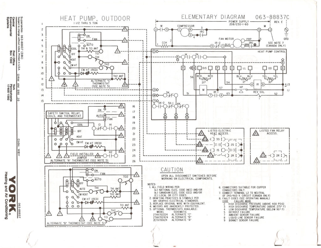 central electric furnace eb15b wiring diagram Collection-Payne Heat Pump Wiring Diagram 5ab cc74f 7 10-e