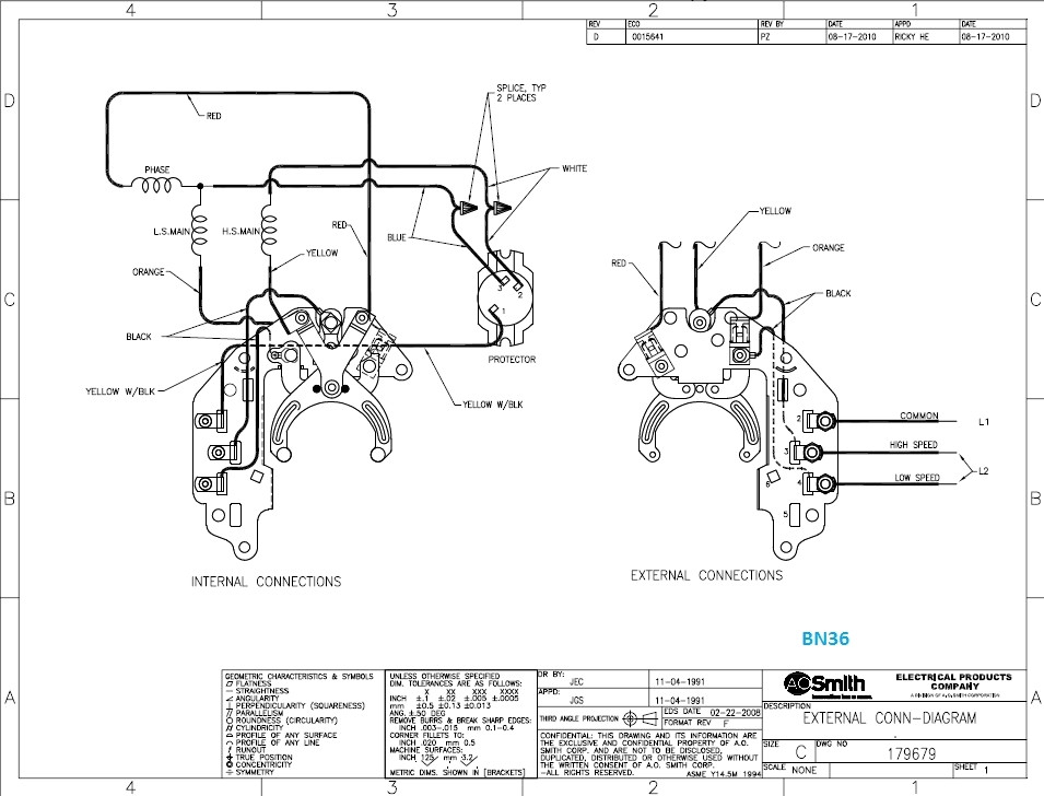 century 2 speed motor wiring diagram Collection-Century Motor Wiring Diagram 8-o