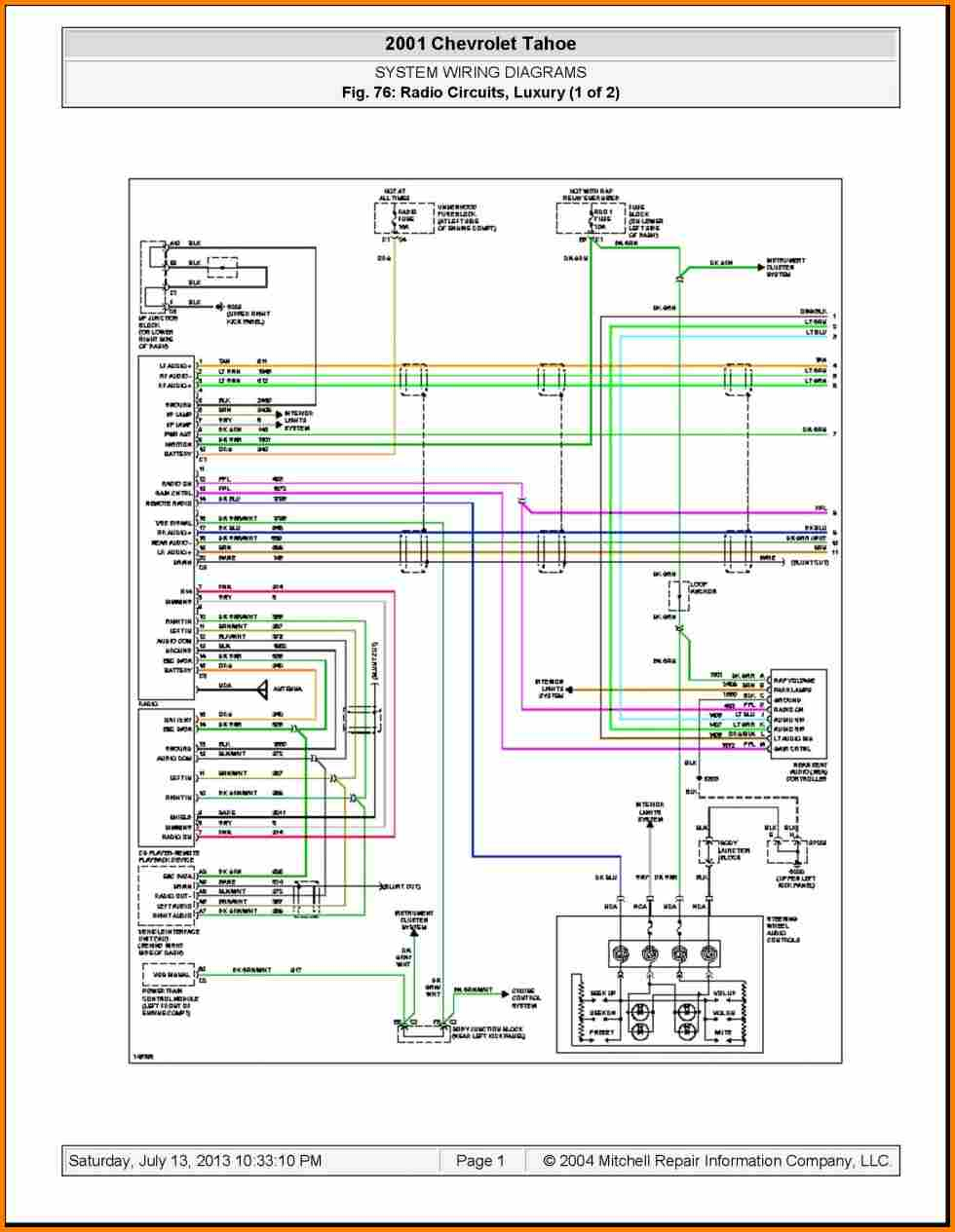 chevy radio wiring diagram Collection-2003 Chevy Silverado Wiring Diagram 2004 Chevrolet Radio Get Free Template 2005 Gmc Sierra Bose Tail 12-r