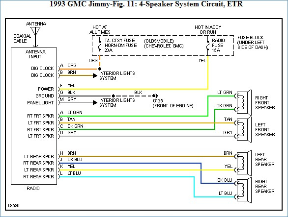 chevy s10 radio wiring diagram Collection-1993 Chevy S10 Stereo Wiring Diagram – Wiring Diagrams and 2002 ford Expedition Stereo Wiring 1-p