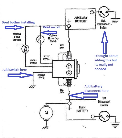 Cole Hersee Battery Isolator Wiring Diagram Download