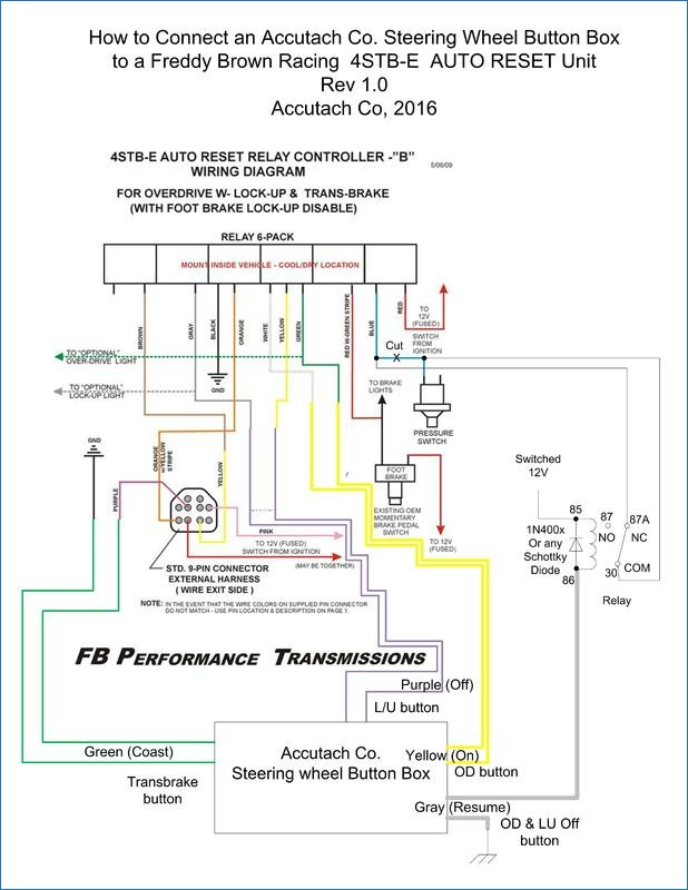 control relay wiring diagram Download-How to control an FB OD LU and transbrake relay controller from 200r4 Wiring Diagram 5-l