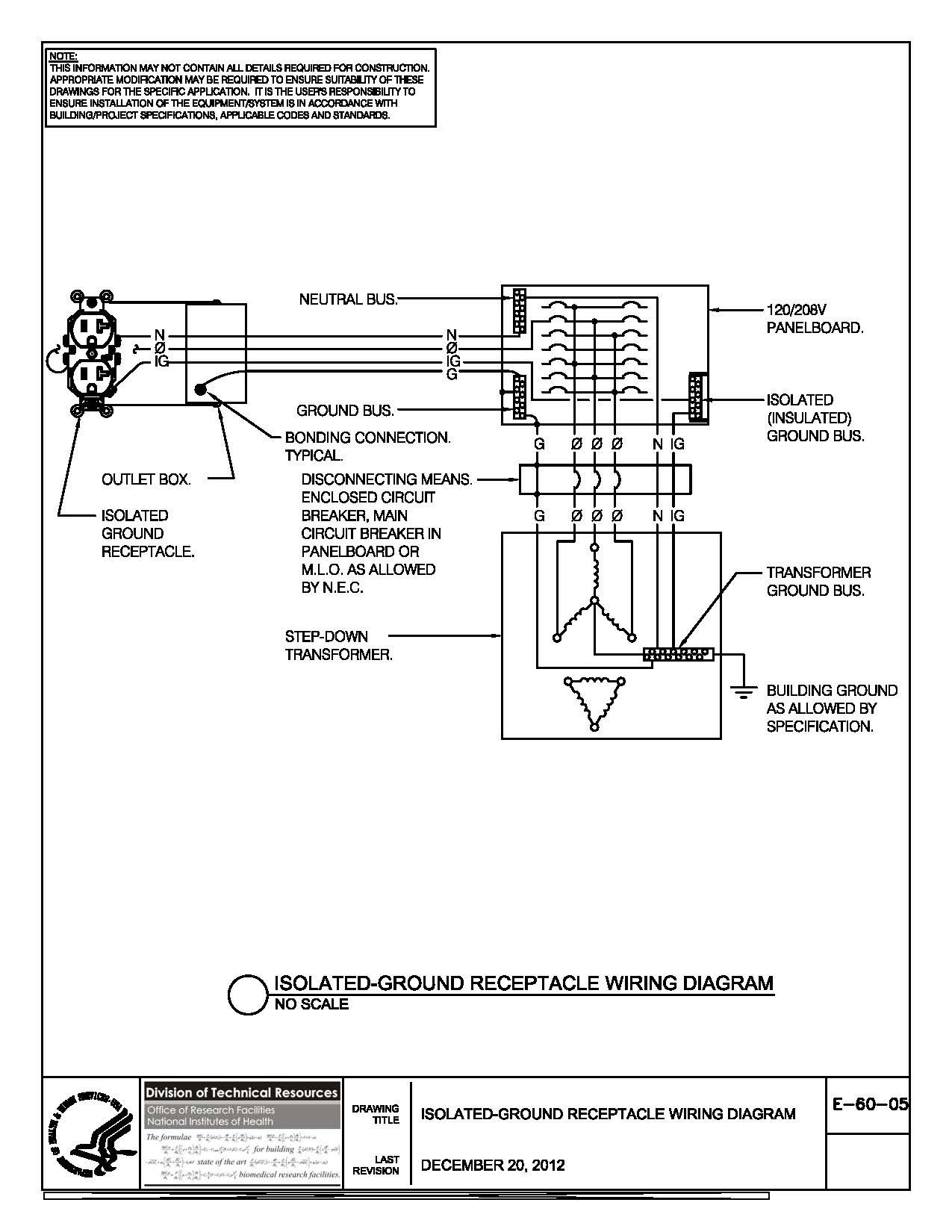 control transformer wiring diagram Collection-pad mount transformer wiring diagram Collection of E 60 05 Isolated Ground Receptacle Wiring Diagram DOWNLOAD Wiring Diagram 1-f