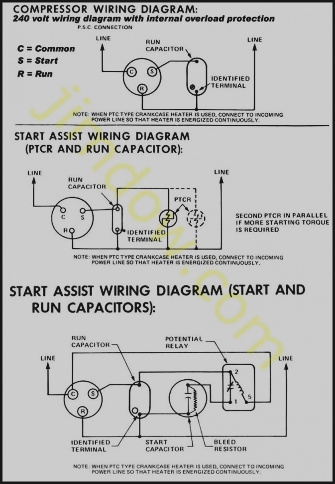Copeland Compressor Wiring Diagram Gallery