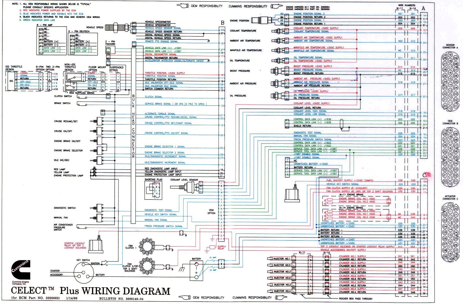 Cummins Celect Ecm Wiring Diagram Sample