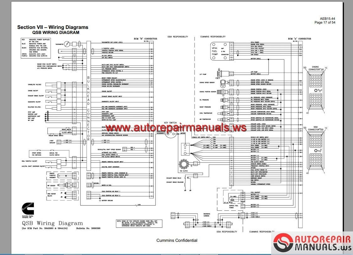 cummins m11 ecm wiring diagram download wiring collection rh headcontrolsystem com Cummins N14 Won't Start N14 Cummins Engine Wiring Diagram