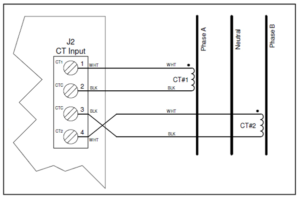 Current Transformer Wiring Diagram Sample