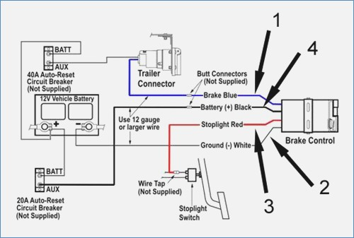 curt brake controller wiring diagram Collection-How to Install Wire Tap Brake Control Elegant Amazing Wiring Diagram for Trailer Brakes Ideas Everything 8-d