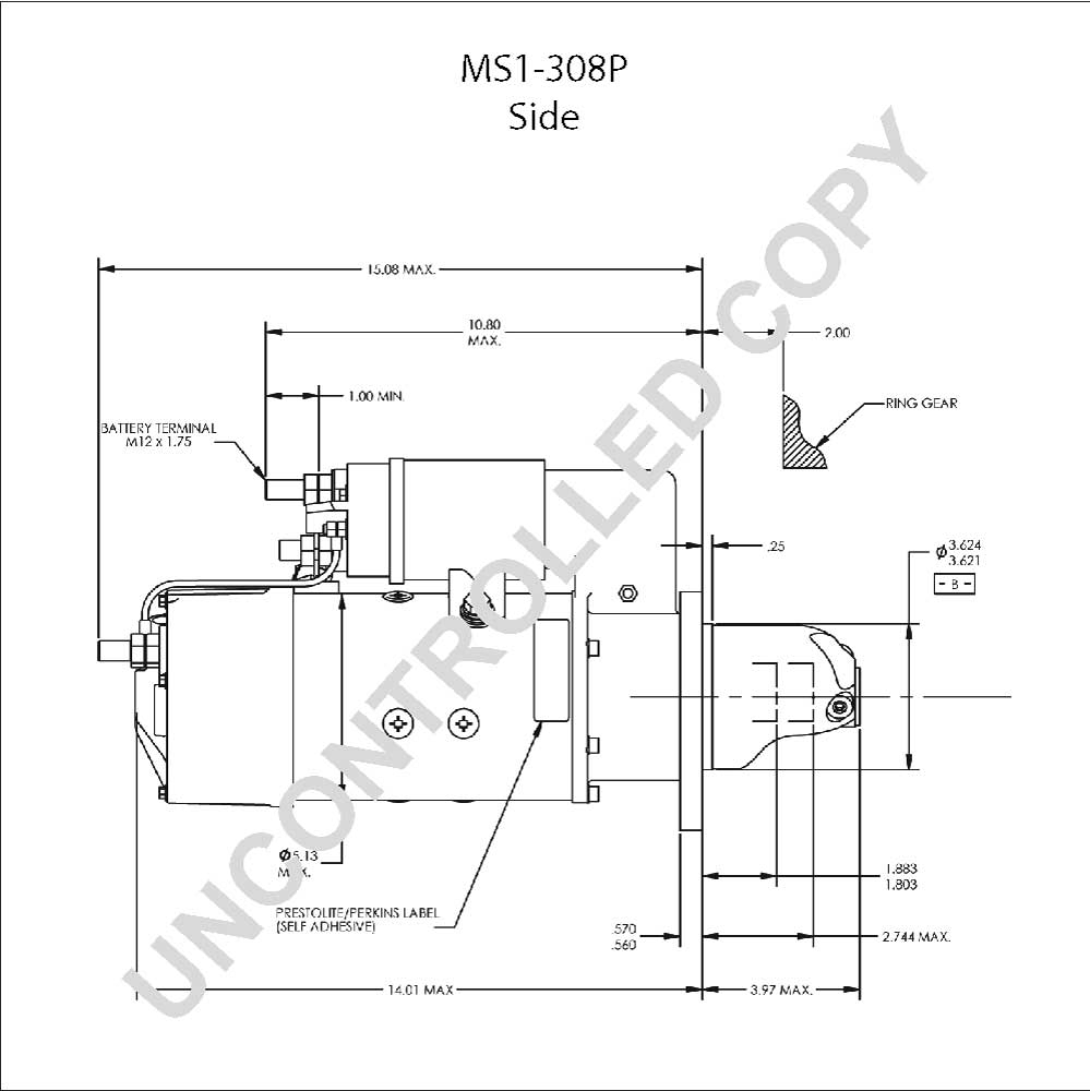 cutler hammer magnetic starter wiring diagram Collection-Magnetic Starter Diagram Fresh Ms1 308p Starter Motor Product Details 4-r