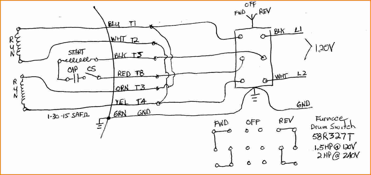 dayton dc speed control wiring diagram Download-Dayton Capacitor Start Motor Wiring Diagram Weg Motors W22 Best For In To 14-p
