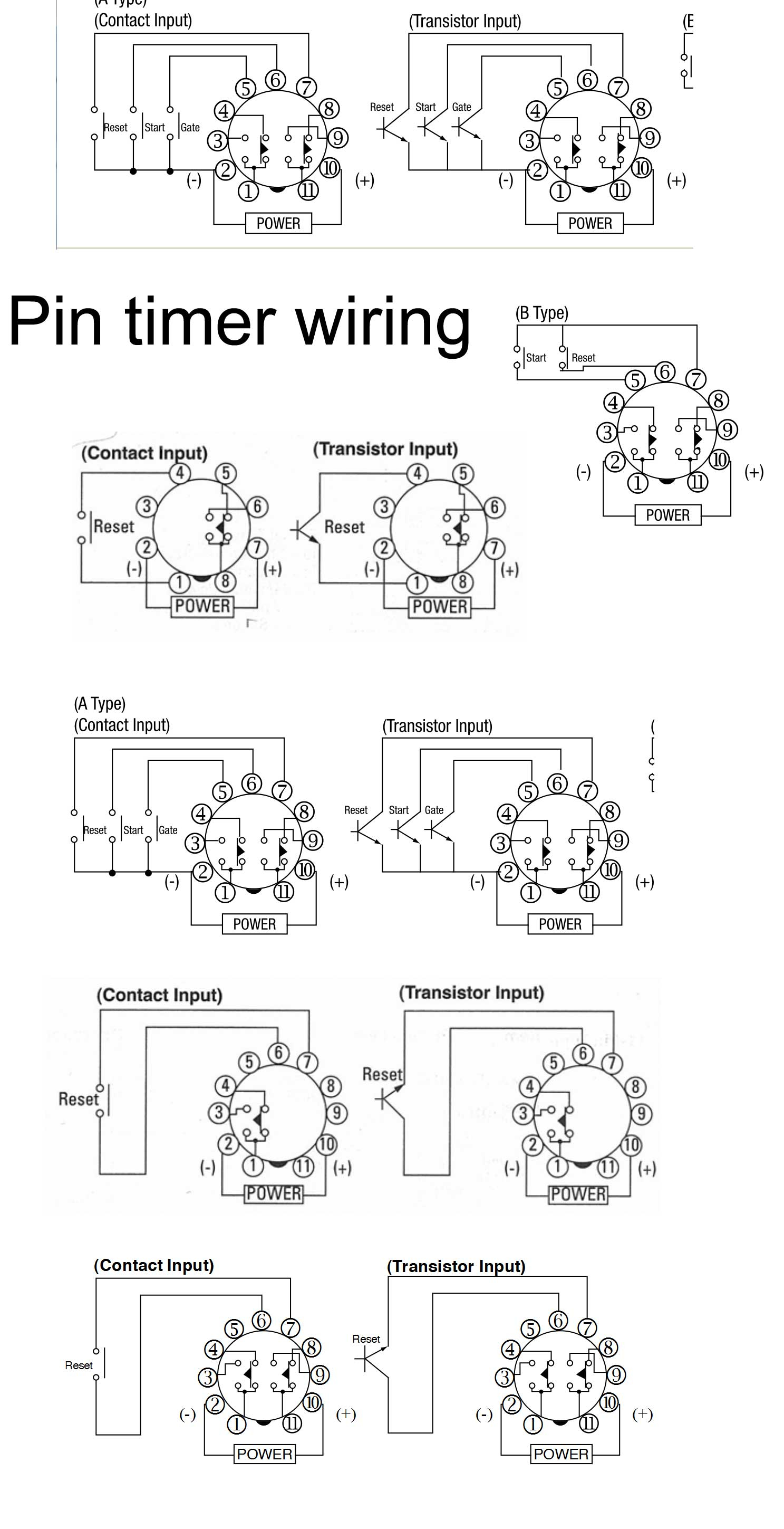 dayton time delay relay wiring diagram Collection-Omron H3ca A Wiring Diagram Unique Series Wiring Diagram Timer Wiring Diagrams Schematics 10-m