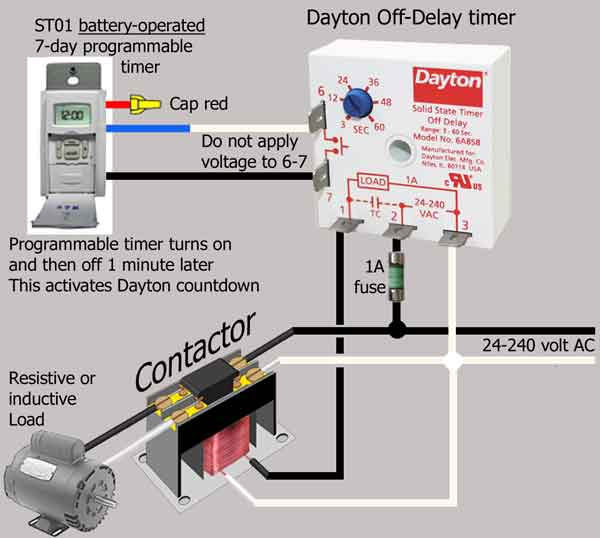 Delay On Break Timer Wiring Diagram Gallery
