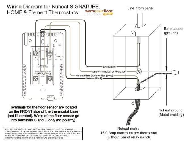 ditra heat wiring diagram Download-Ditra Heat Wiring Diagram Schluter Ditra Heat thermostat Trendy Wiring Diagram for Honeywell 12-h