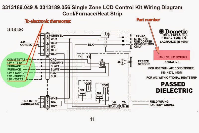 dometic ac wiring diagram collection wiring collection. Black Bedroom Furniture Sets. Home Design Ideas