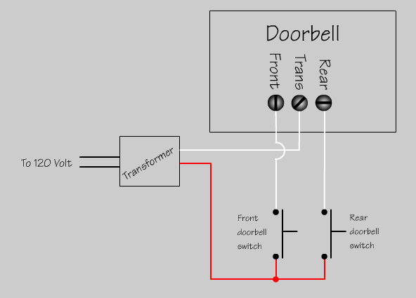 door bell wiring diagram collection