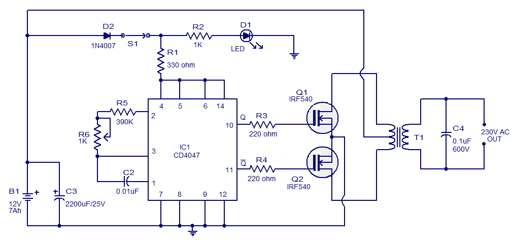 Dual Lite Inverter Wiring Diagram Collection