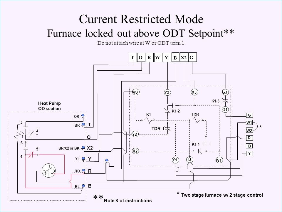 electric heat furnace wiring diagram sample