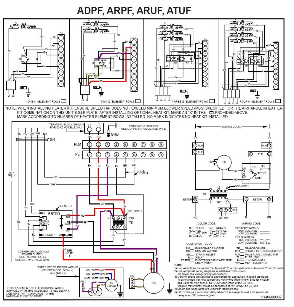 electric heat strip wiring diagram gallery