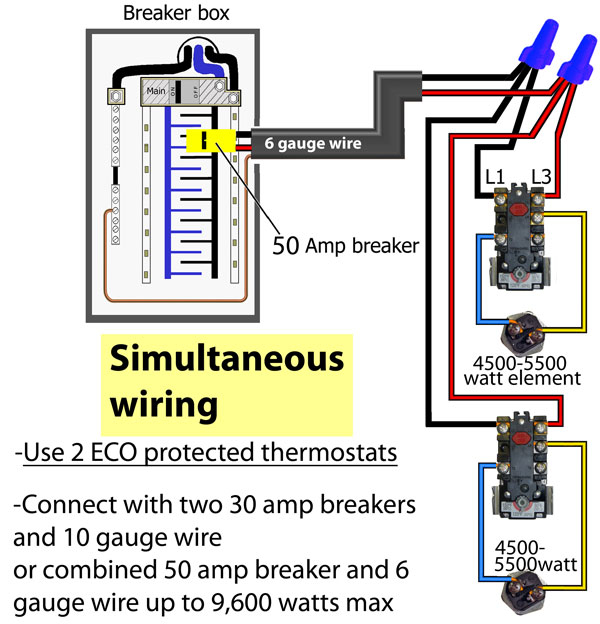 electric hot water tank wiring diagram Download-Electric Water Heater Wiring Installation New How to Wire Water Heater thermostats 40 Awesome Electric 15-h
