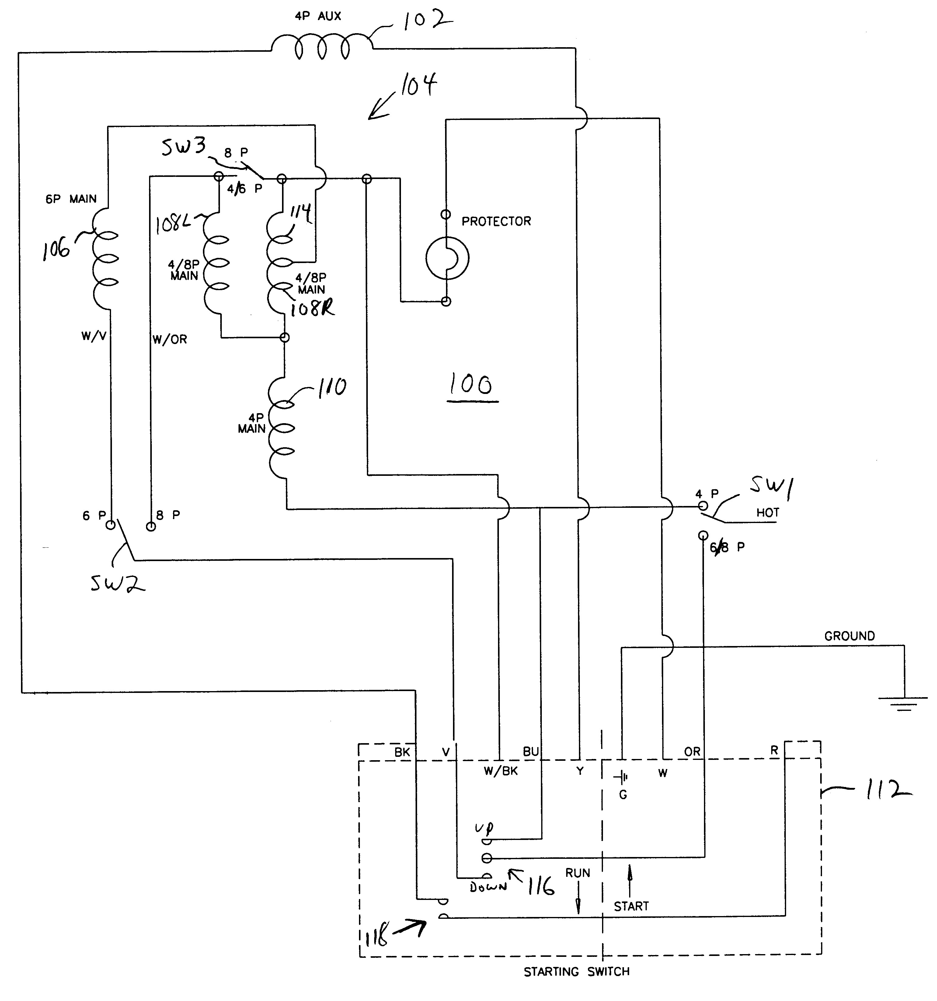 electric motor capacitor wiring diagram Download-Wiring Diagram for Electric Motor with Capacitor Best Patent Us Capacitor Start Single Phase Induction Motor 10-o