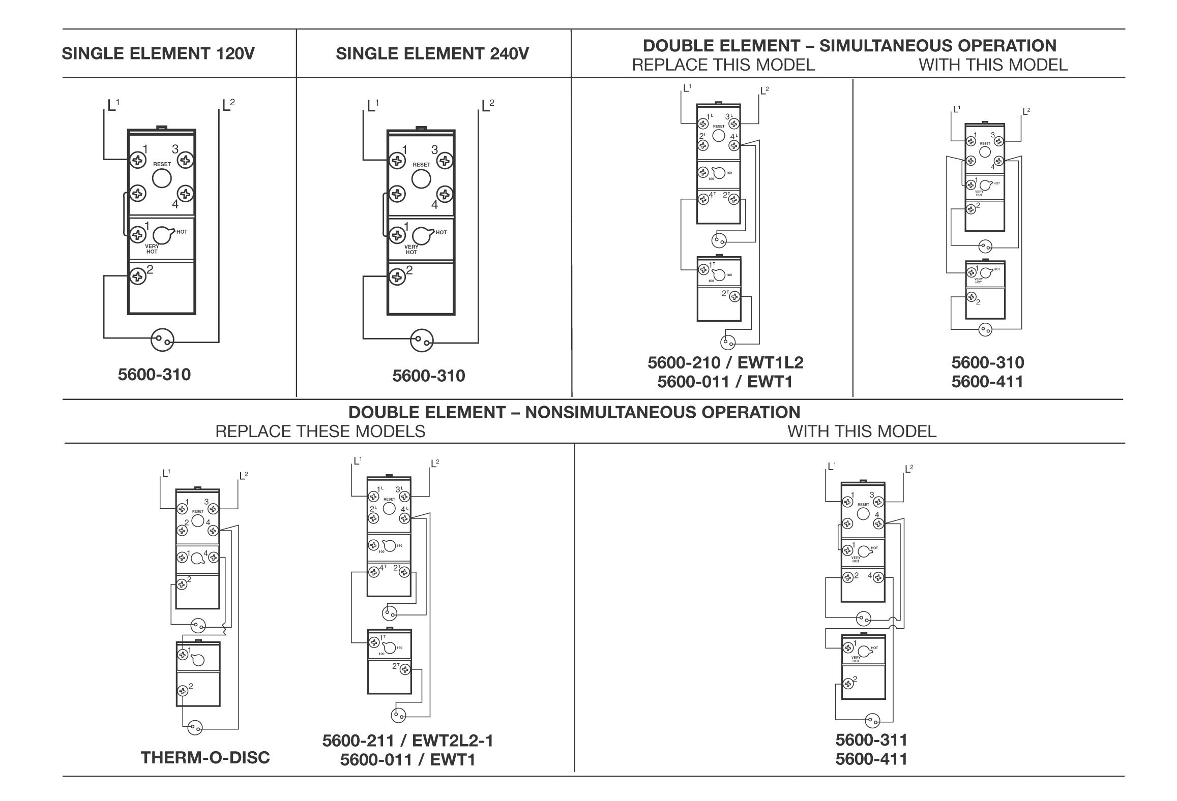electric water heater thermostat wiring diagram Download-Water Heater Wiring Diagram Dual Element Awesome Robertshaw thermostat Wiring Diagram 2-n