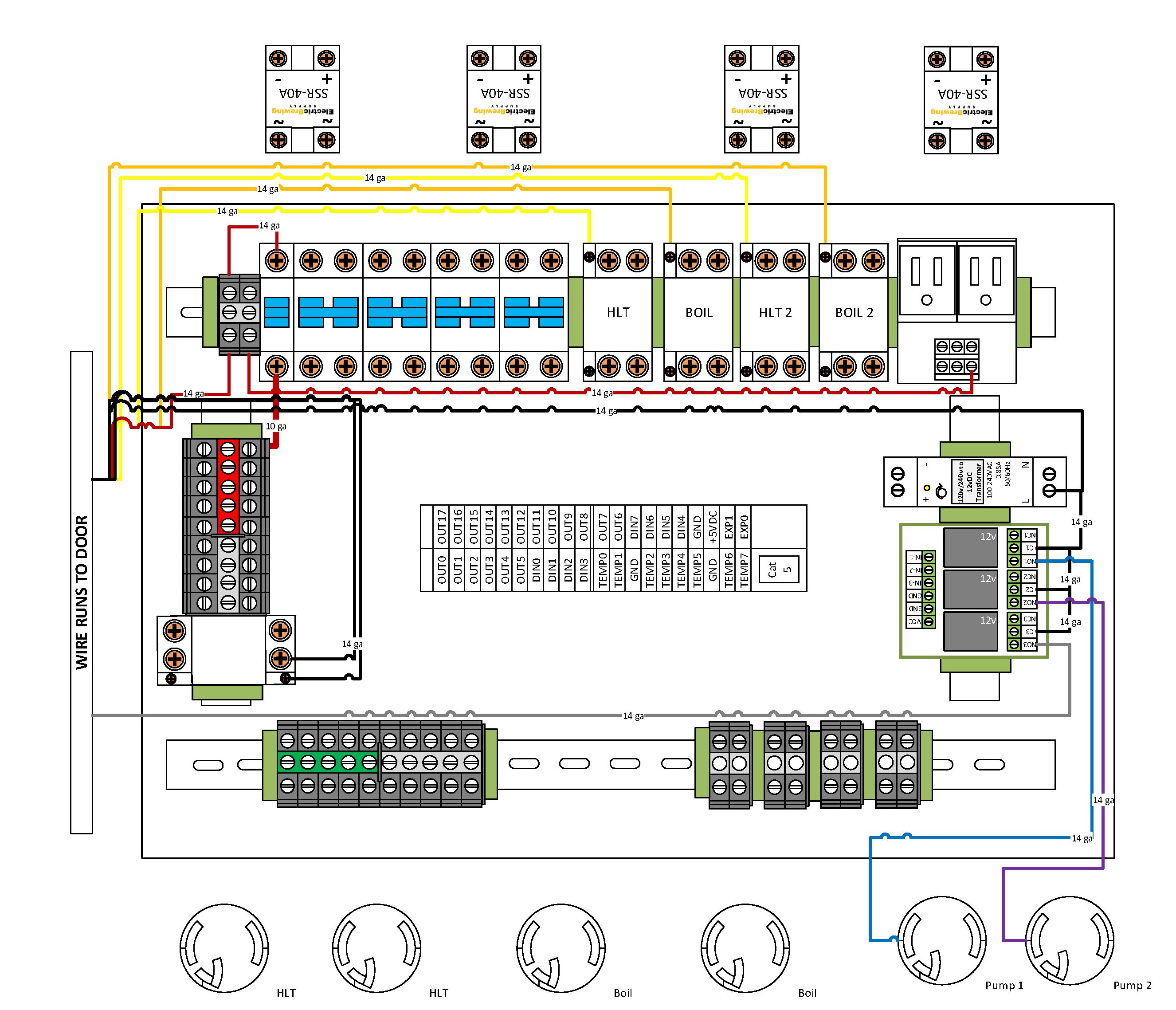 electrical control panel wiring diagram Download-Electric Brewery Wiring Diagram Fresh Bcs 4 Element Gen2 Control Panel Guide – Electric Brewing Supply 5-d