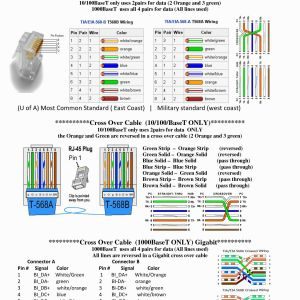 ethernet rj45 wiring diagram Download-Wiring Diagram for A Cat5 Cable Save Ethernet Wiring Diagram Unique 2 Variante 1 Wire Controller 5-t