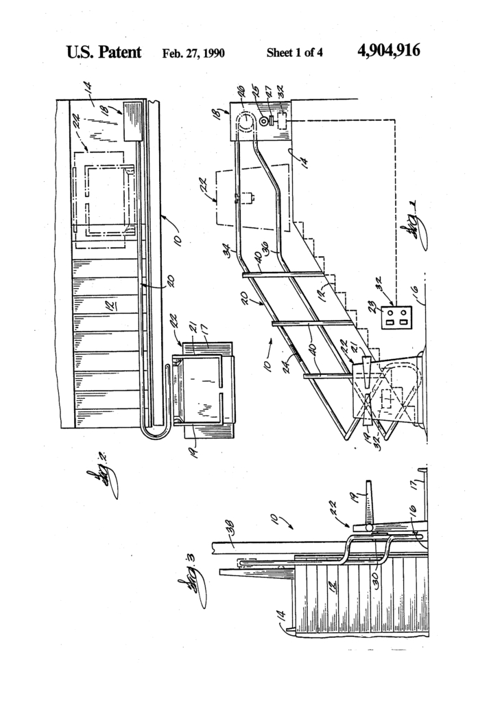 excel stair lift wiring diagram Download-Patent Us Electrical Control System For Stairway With Stannah Stair Lift Wiring Diagram And 6-g