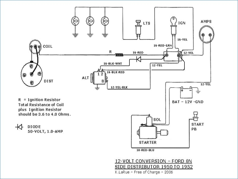 Farmall H 12 Volt Conversion Wiring Diagram Download