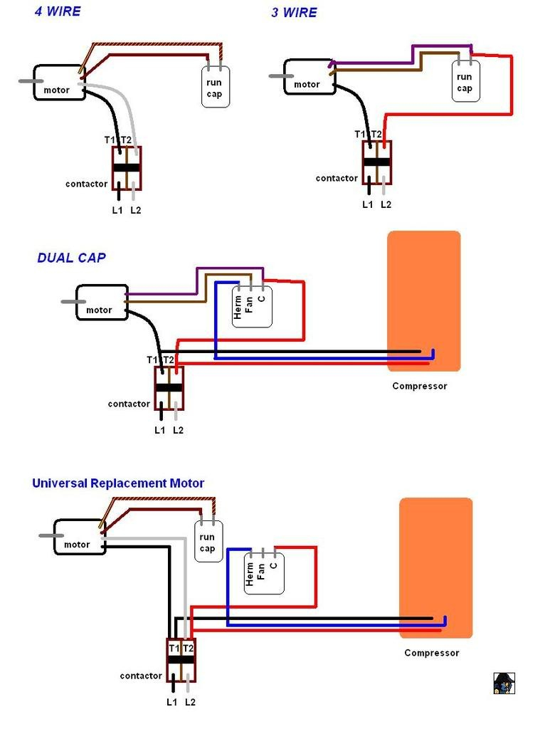 fasco fan motor wiring diagram Collection-Condenser Fan Motor Wiring And Fasco Diagram For Aqua Rite 5-m