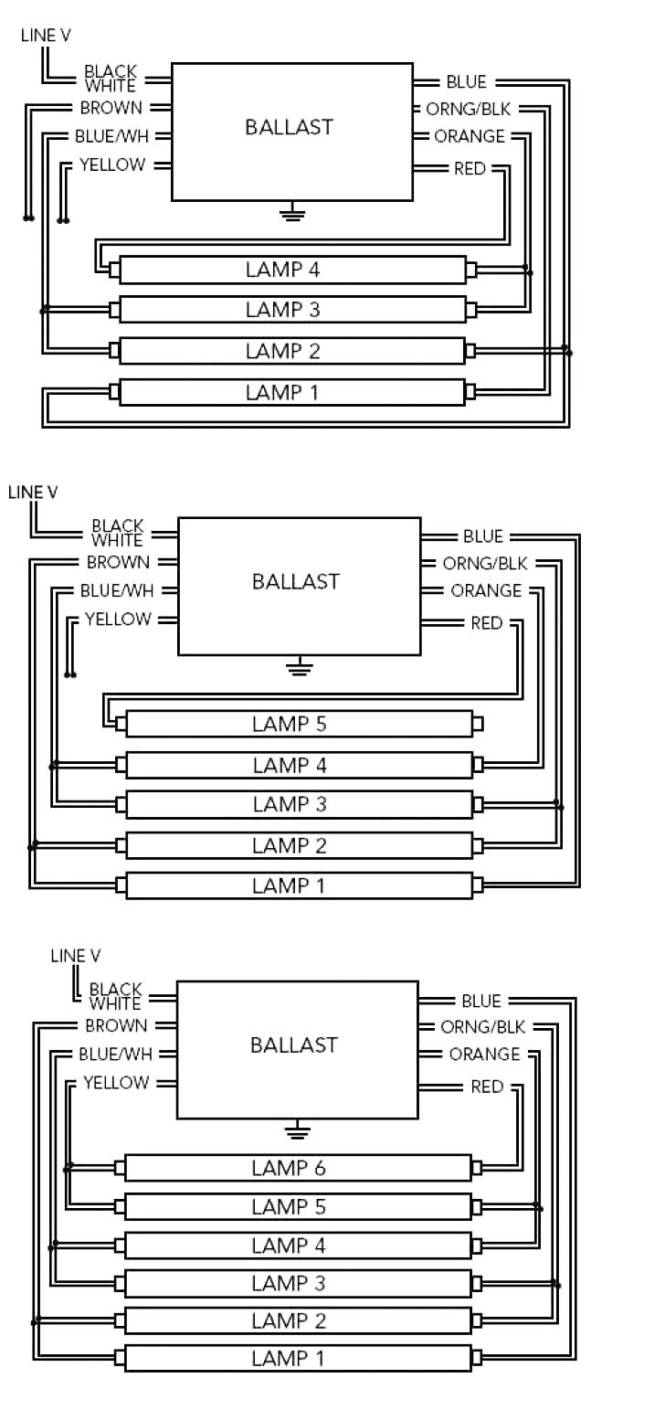 advance fluorescent ballast wiring diagram