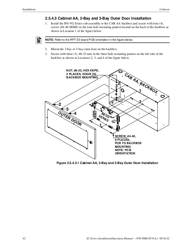 fci lcd 7100 wiring diagram Download-42 42 E3 Series Installation Operation Manual 7-h