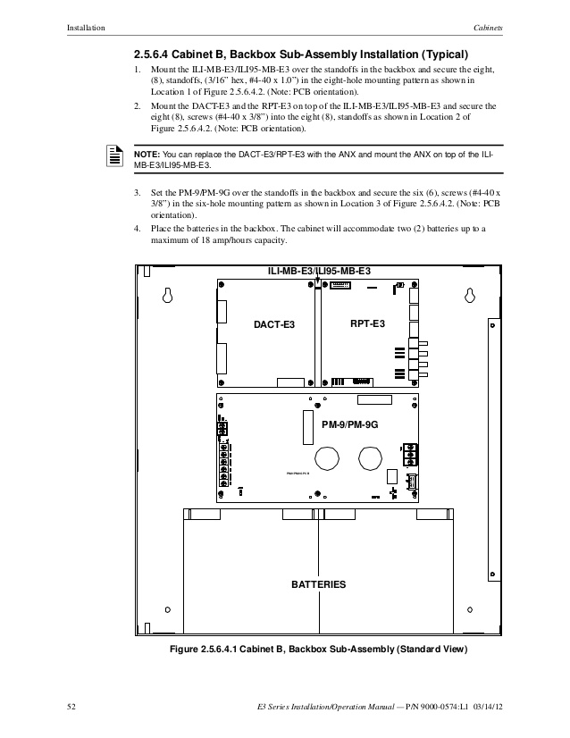fci lcd 7100 wiring diagram Download-52 52 E3 Series Installation Operation Manual 4-m