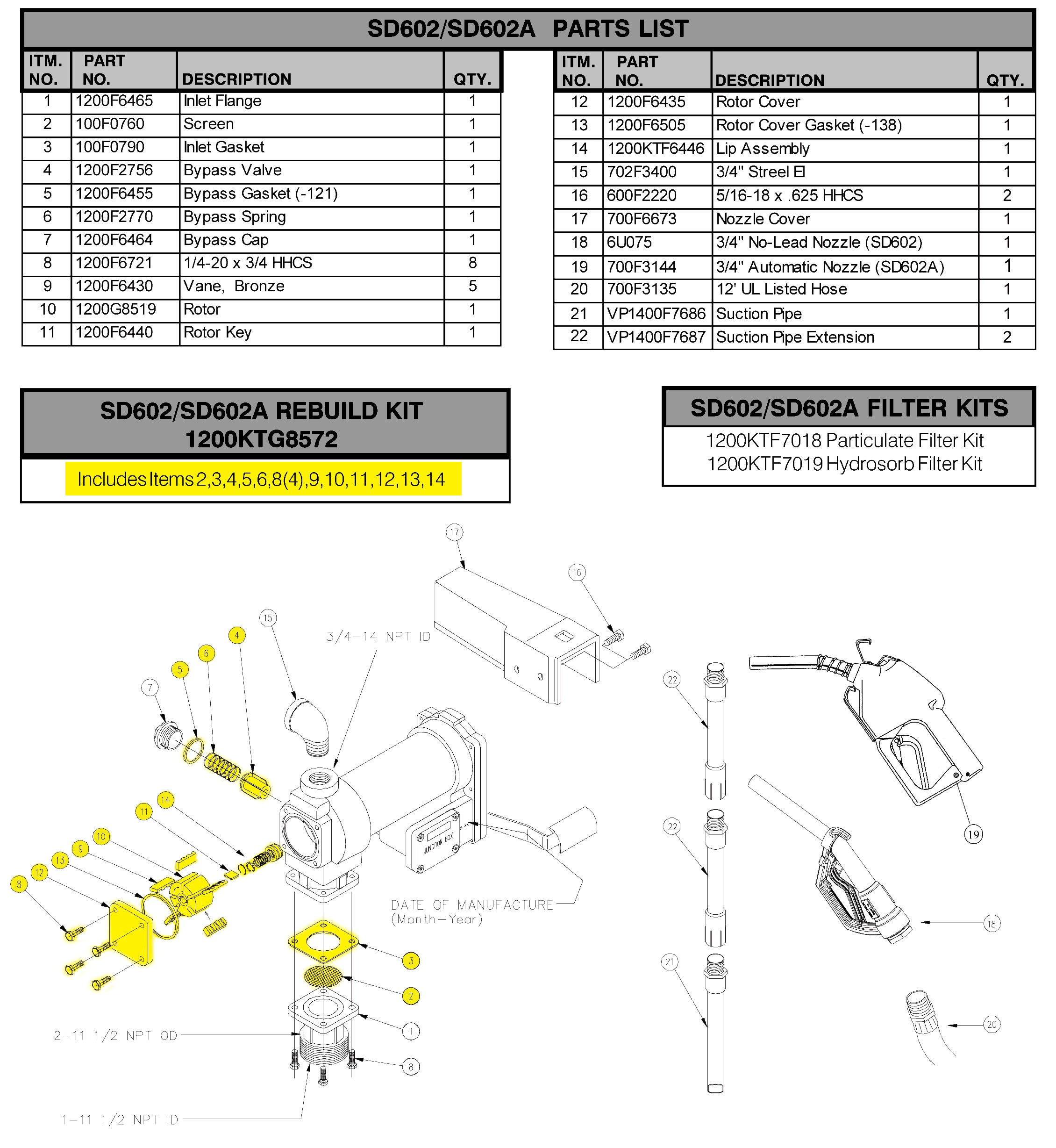 fill rite pump wiring diagram Collection-Fire Extinguisher Parts Diagram Fill Rite 1200ktg8572 Rebuild Kit Fire Extinguisher Parts Diagram Fill Rite 10-h