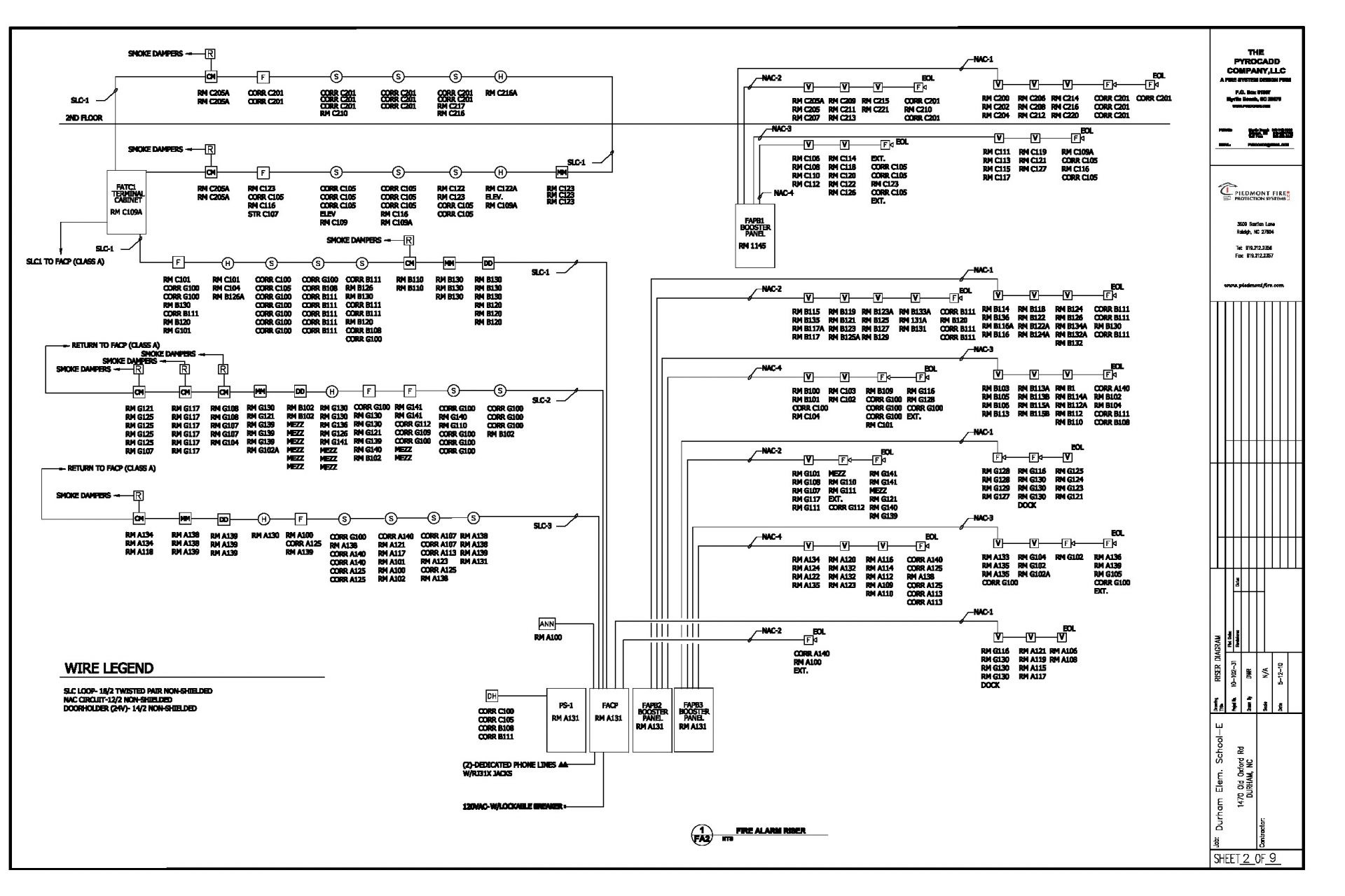 fire alarm flow switch wiring diagram Collection-Smoke Detector Wiring Diagram Pdf Fresh Addressable Fire Alarm Diagrams For Schematic Non Pull Station 9 8-f