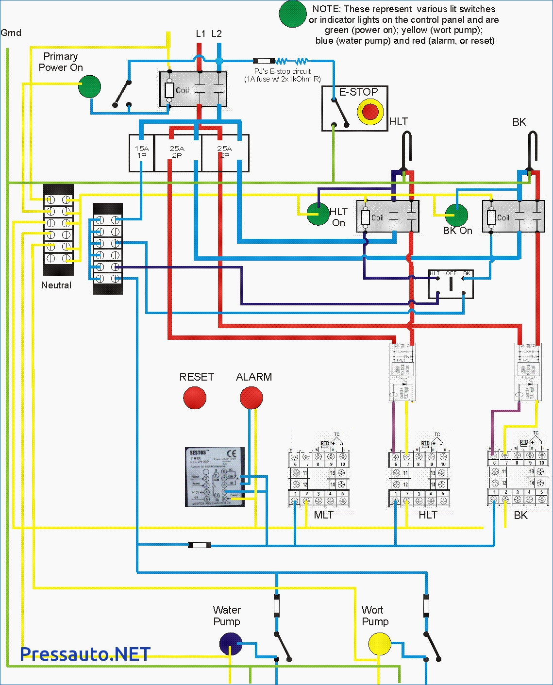 fire pump controller wiring diagram Download-Magnificent Sump Pump Control Panel Wiring Diagram Image Collection 13-b