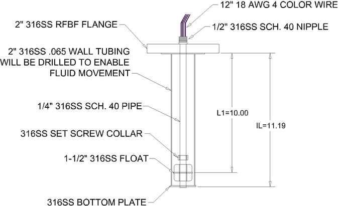 float level switch wiring diagram Collection-Below are drawings of some different custom level switches that NASC has built 1-o
