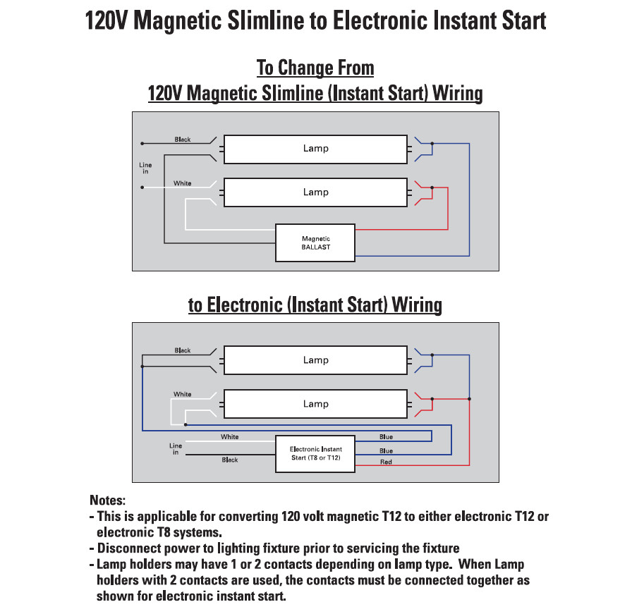 8 Foot Fluorescent Light Wiring Diagram