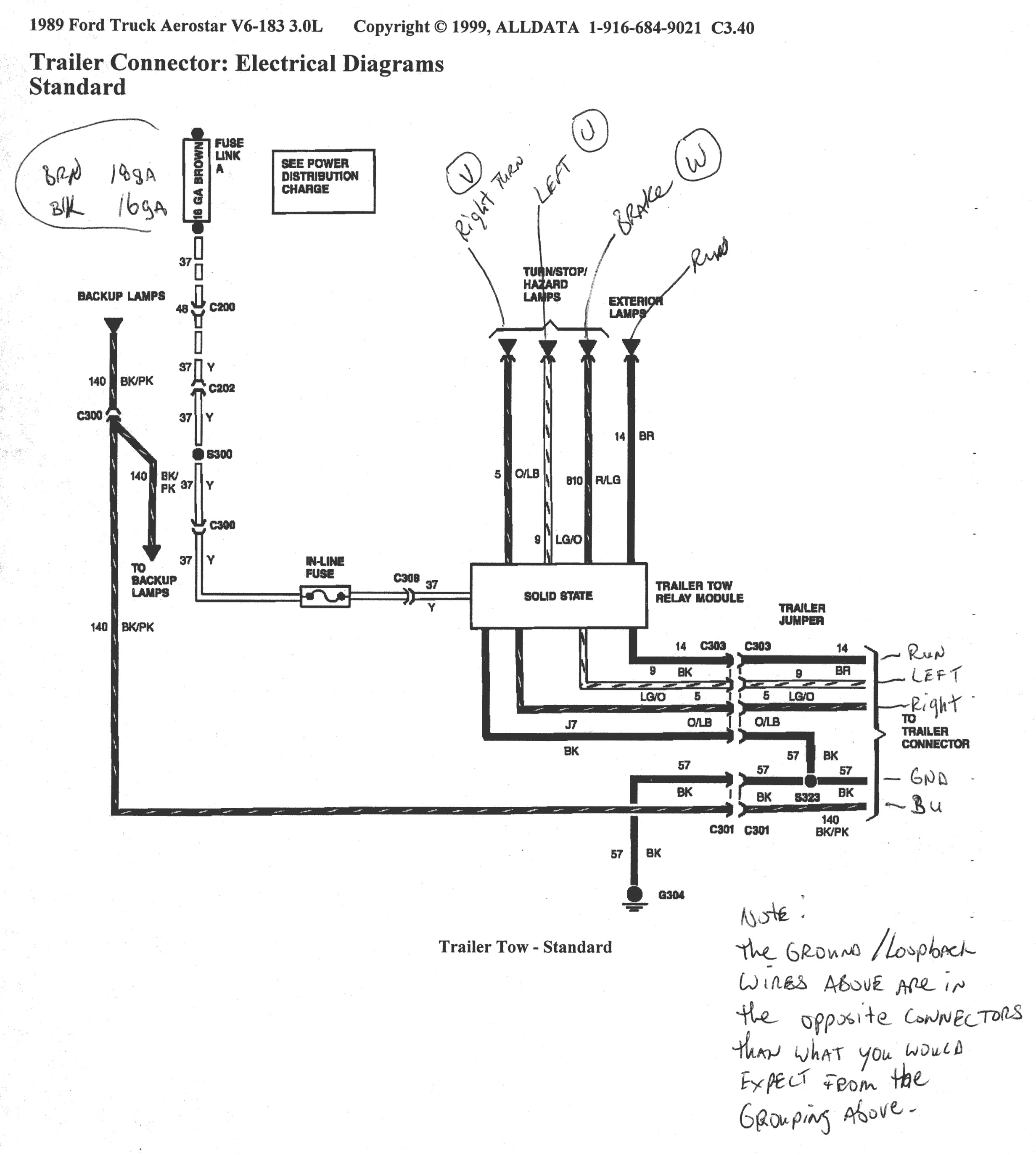 ford 7 pin trailer wiring diagram Download-7 Pin Trailer Connector Plug Wiring Utility With Ford F250 Diagram 6 14-r