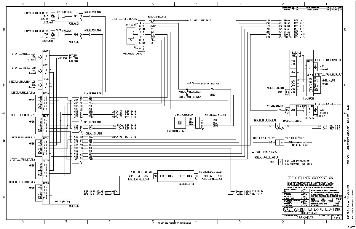 2012 Cascadia Wiring Diagram Free Download Schematic