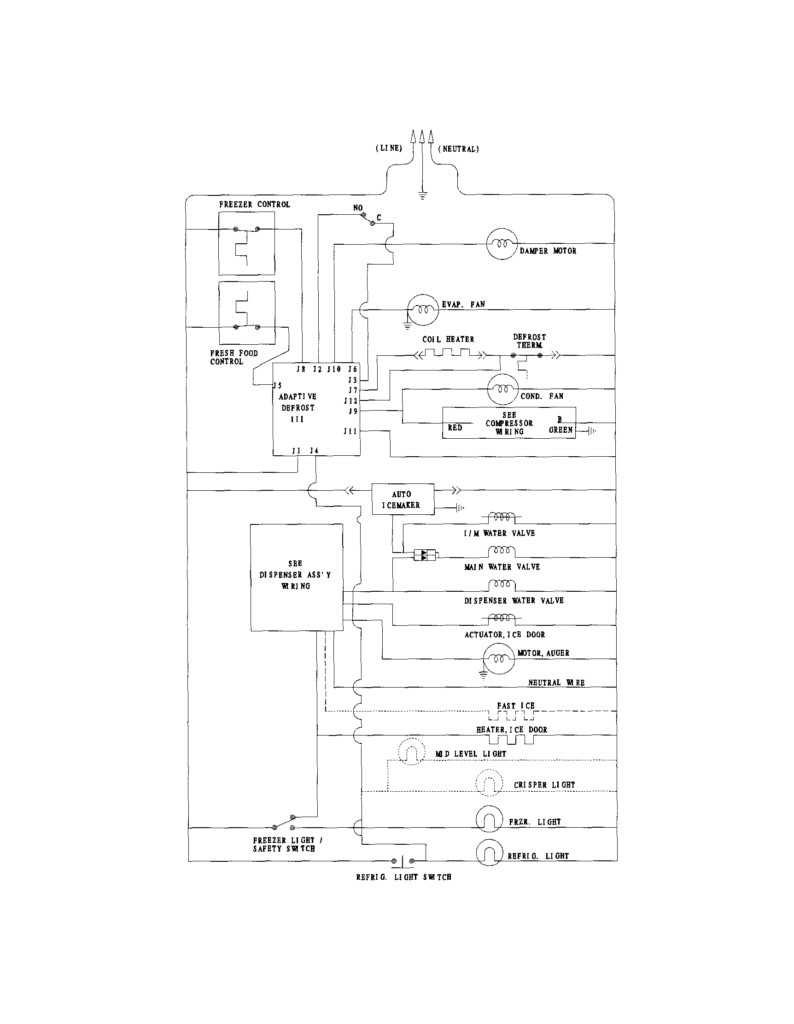 frigidaire ice maker wiring diagram Download-Ice Maker Wiring Diagram 13-c