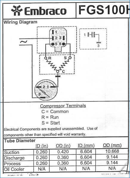 Frigidaire Refrigerator Wiring Diagram Collection