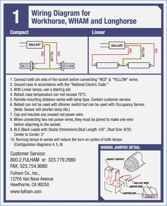 fulham ballast wiring diagram Download-fulham ballast wiring diagram wiring diagram sample rh faceitsalon 2005 Workhorse Chassis Wiring Diagram 20-k