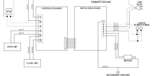 garage door opener sensor wiring diagram Collection-57 Inspirational Genie Garage Door Safety Sensor Wiring Diagram 15-g