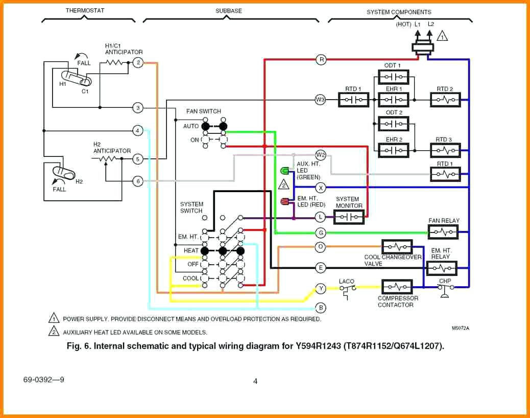 gas furnace thermostat wiring diagram Download-Goodman Wiring Diagram Gas Furnace Thermostat Trend Truck In Heat 13-a