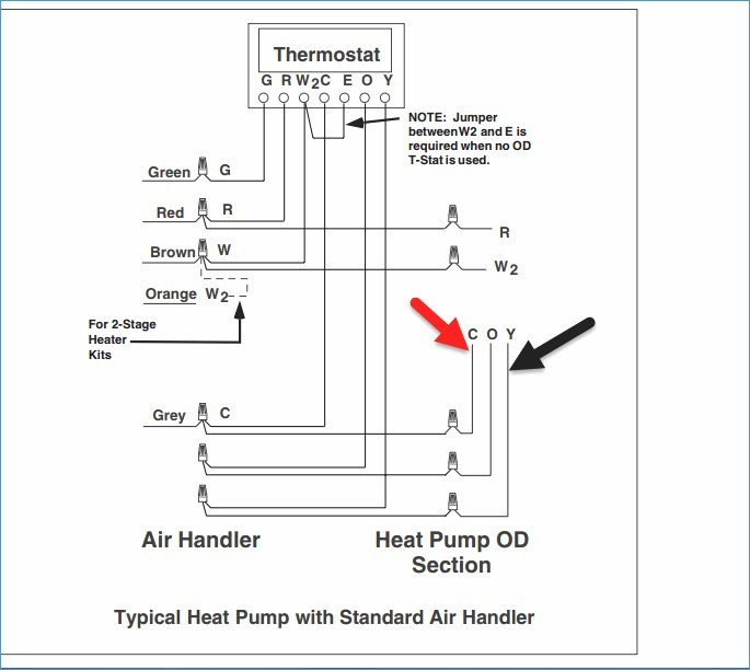 gas furnace thermostat wiring diagram Download-Lovely Heat Pump Thermostat Wiring Diagram Elegant Wiring Diagram 6-d