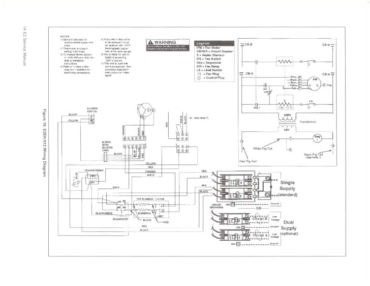 gas furnace wiring diagram pdf Collection-Electric Furnace Wiring Diagram For Intertherm Gas Parts 9-i