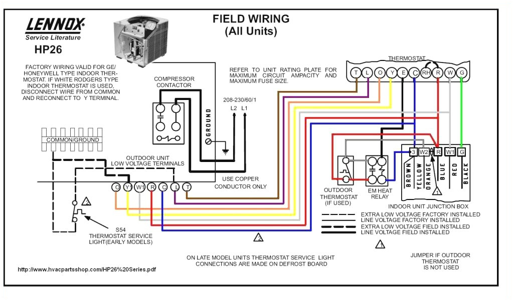 gas furnace wiring diagram pdf Collection-Heat Pump Thermostat Wiring Diagram 11 Best Bryant Lennox Furnace 12-h