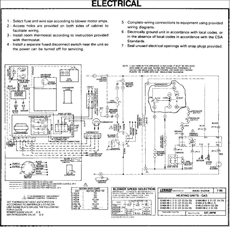 gas furnace wiring diagram pdf Collection-Lennox Pulse Furnace Wiring Diagram 1-b
